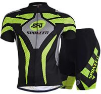 Bike Jersey Mens Cycling Shorts GEL Padded MTB Road Biking Clothing Bicycle Wear