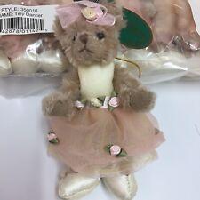 """Bearington Bears Collection 6"""" Tiny dancer Bear Style 350016 Crafts 12 P"""