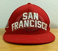 SAN FRANCISCO 49ers NFL Football Team NEW ERA 59Fifty Fitted HAT / CAP Size (7)
