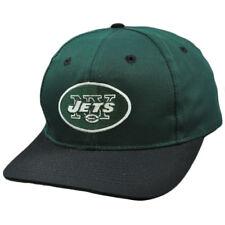 75b89f544b4 NFL New York Jets Green Black Vintage Retro Deadstock Snapback Twins Hat Cap