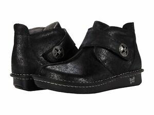 Alegria Caiti Casual Boots Womens Black Shoes - Ink Impression
