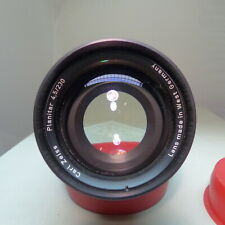 Lens Carl Zeiss Planitar 4,5/230 Copy lens
