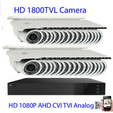 32Ch All-in-1 1080P Dvr 1800Tvl 3/12mm Varifocal 72Ir Led Security Camera System