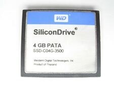#1 WD SiliconDrive 4GB PATA SSD-C04G-3500 CF Compact Flash Memory Card