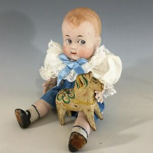 """Reproduction All Bisque Googly Doll 8"""" ~Artist Made~ Super Cute"""