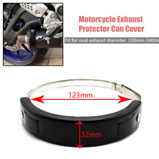 Motorcycle Exhaust Muffler Protector Can Cover Guard Fit For YAMAHA 100mm-140mm