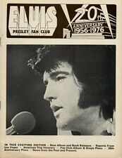 Elvis Presley Fan Club Magazine February/March 1976 AB