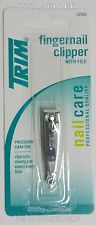 TRIM Fingernail Clipper With File 1-25b Pro Quality 12500