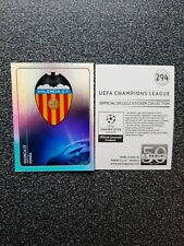 PANINI CHAMPIONS LEAGUE 2011/12 NR. 294 BADGE VALENCIA CF
