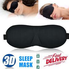 3D Eye Mask Travel Beauty Sleep Bedtime Sponge Cover Blindfold Rest Aid Blinder