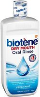 Biotene Dry Mouth Oral Rinse, Fresh Mint 16 oz (Pack of 2)