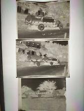 Lot négatifs photos anciens  Citerne Camion Transport d'Eau Prototype? 1910/1920