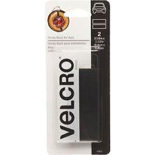 """6 PACK VELCRO brand Hook & Loop Strip for Plastic-3-1/2"""" BLACK ADHESIVE FASTENER"""