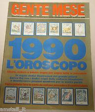 GENTE MESE=1990/1=MADONNA=L'OROSCOPO=AMORE=DENARO=SALUTE=ZODIACO=ENRICO BAJ=