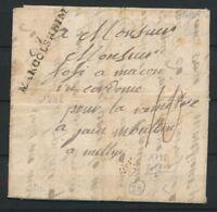 1792 Lettre de soldat Marque 67 MARCOLSHEIM 45x8 Superbe BAS-RHIN(67) P2747