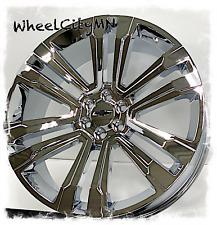 24 Inch Chrome Chevy Silverado Tahoe Suburban Oe Replica 5822 Wheels 6x55 30