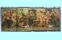 "YANKEE DOODLE. Large Vintage Print By NORMAN ROCKWELL.45"" x17"".(115 cms x 30cms)"
