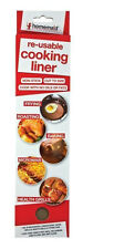 1 x Cooking Liner Sheet Non-Stick Re-Useable Baking Roasting Frying Microwave