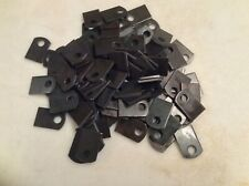 Weld On Steel Flat Tab Brackets 1 X 1 12 X 18 Thick38 Hole 50 Pcs