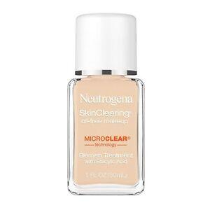 Neutrogena SkinClearing Oil-Free Acne Foundation (20 Classic Ivory) 1 fl. oz