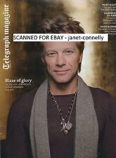 JON BON JOVI Kansai Yamamoto David Bowie Telegraph Mag (16 March 2013)