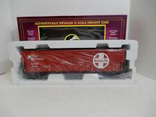 MTH Toy Trains Santa Fe # 20-93138 50' Dbl Door Plugged Boxcar # 48138 NEW