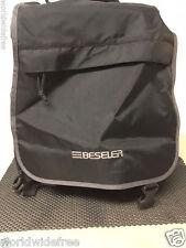 BESELER X Large  BACKPACK  GADGET BAG w/SHOULDER STRAP Padded Black BB1 MRSP $99
