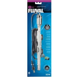 Fluval M50 Submersible Fish Tank Heater - 50 Watt 15 Gallons Aquarium Saltwater