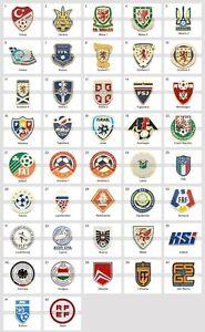 Badge Pin: UEFA European Football Associations Football Federation 3