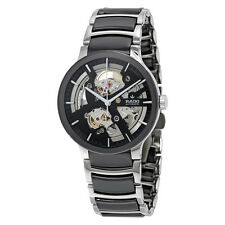 Rado Centrix Skeleton Dial Stainless Steel and Ceramic Mens Watch R30178152