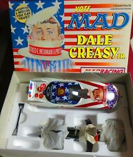 RARE, DALE CREASY, 1/24 ACTION 2000 FUNNY CAR, ALFRED E NEWMAN FOR PRESIDENT
