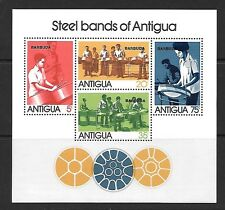 ANTIGUA SGMS398 1974 STEEL BANDS MNH