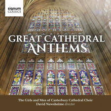 Canterbury Cathedral Girls' Choir : Great Cathedral Anthems [New & Sealed] CD