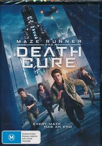 Maze Runner The Death Cure DVD NEW Region 4 Dylan O'Brien