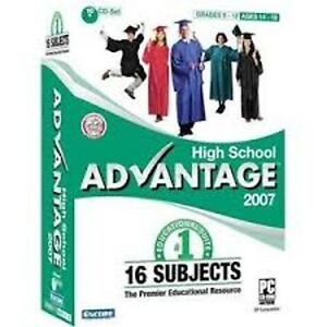 Encore Software High School Advantage 2007 Math  History  Foreign Languages