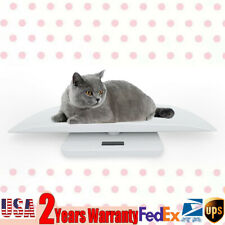Digital Electronic Scale 3Weighing Modes Veterinary Animal Weight Pet Dog Cat Us