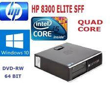 HP 8300 ELITE SFF QUAD CORE 3RD GEN i5 3.4 GHz 500gb HDD 8GB RAM Win 10 #1