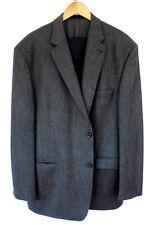 Herren-Anzug-Kombination Sakko anthrazit, Gr. 60, Hose schwarz, Gr.28 gebraucht