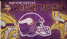 NFL Minnesota Vikings  3 x 5 Flag Banner