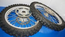 99-11 2000 YZ125 YZ250 FRONT AND REAR WHEEL RIM TIRE ROTOR ASSY