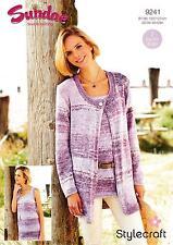 Stylecraft Sundae DK Knitting Pattern 9241