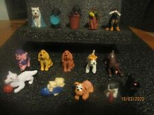 puppy in my pocket and other dog related collectable - see images & full listing