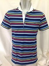 Lacoste Men's Short Sleeve Regular Casual Shirts & Tops
