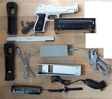 Nintendo Wii Console Black PAL + Gun peripheral + Packaging