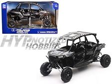 NEWRAY 1:18 POLARIS RZR XP TURBO EPS DIE-CAST GREY 57843C