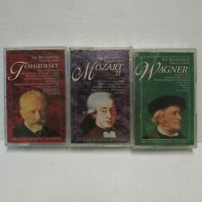 Masterpiece Collection Wagner Tchaikovsky Mozart II Audio Cassette Tapes 3