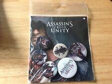 Assassins Greed Unity Badges