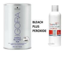 IGORA Schwarzkopf VARIO BLONDE Super Plus BLUE Powder Bleach - TRUZONE Peroxide