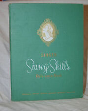 Singer Sewing Skills Reference Book 1954