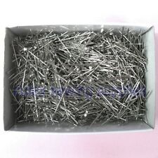 "Steel Bank Pins #24 (1-1/2"") - 1/2 Lb. Box, Heavy Duty Straight Pins"